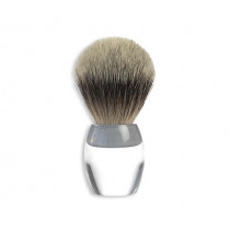 Shaving brush Zahn, badger hair silver tip